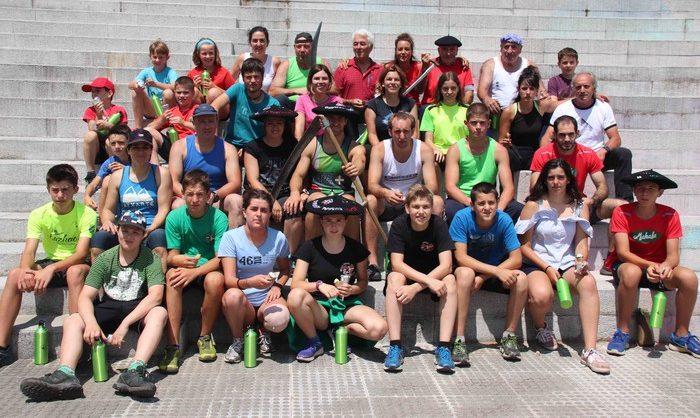 Euskal Herriko IX. Sega Ligako irabazleak