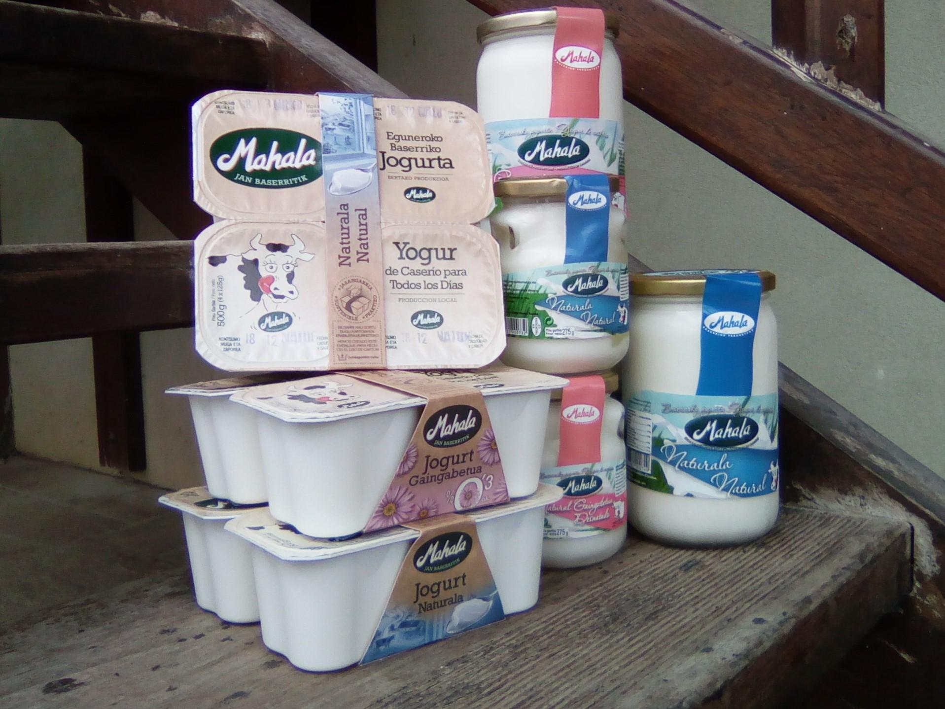 Mahala jogurt naturalak